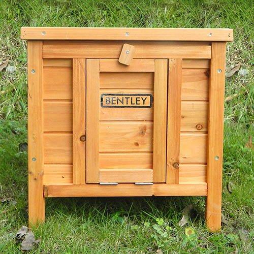 Charles Bentley Wooden Rabbit, Guinea Pig, Hedgehog Box  Hutch