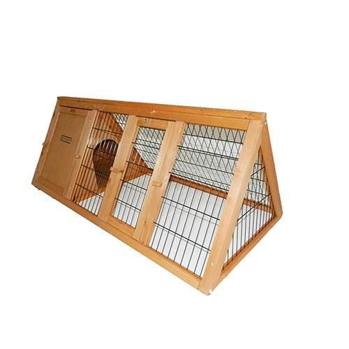 Charles Bentley Wooden Rabbit Hutch/Guinea Pig/Ferret Run