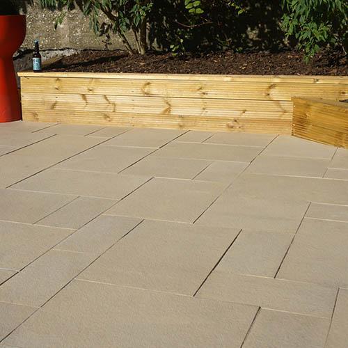 S2D Prestbury Stone Paving Kit 5.76m2 Limestone