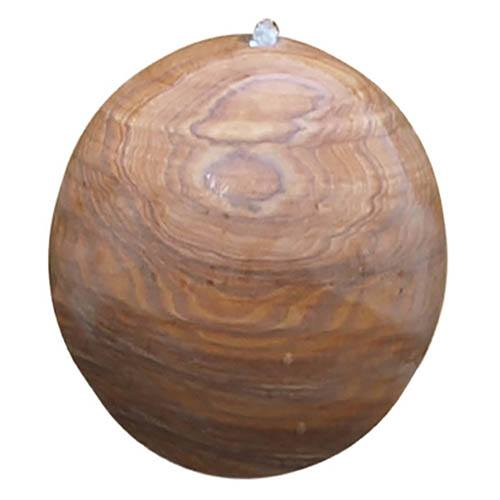 Eastern Drilled Sphere Water Feature