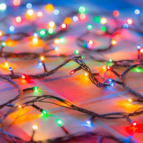 200 Multi Coloured LED String Lights