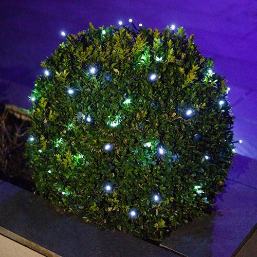 200 Cool White LED String Lights