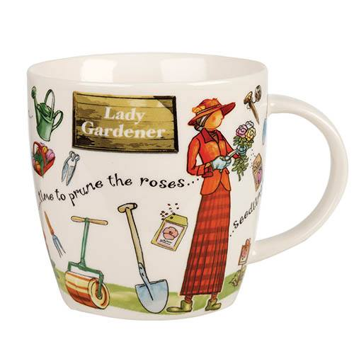 Lady Gardener Mug with Gift Box
