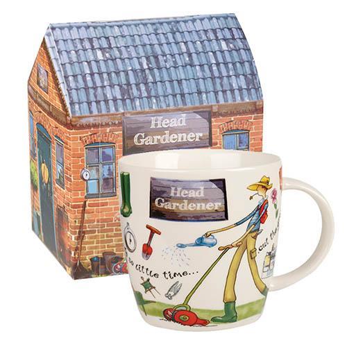 Head Gardener Mug with Gift Box