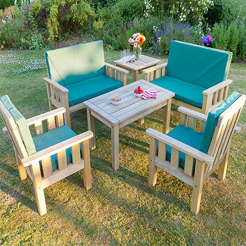 Christina Set with Seat Cushions