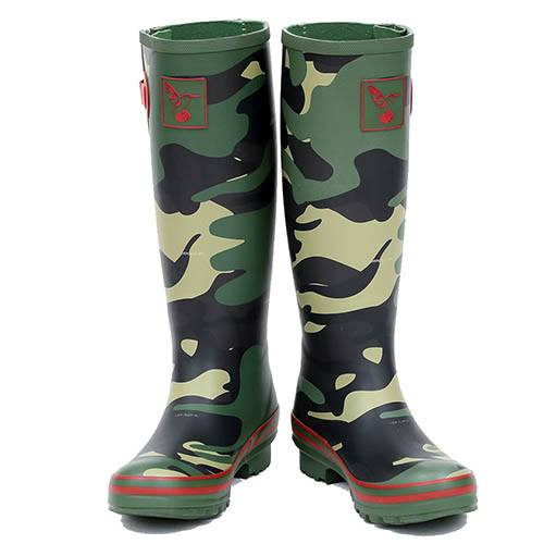CAMOUFLAGE WELLINGTON BOOT