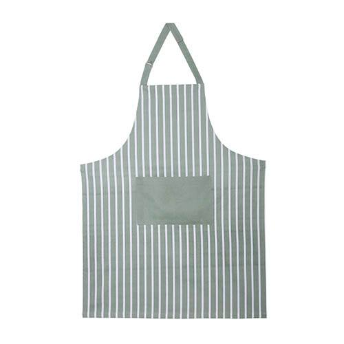 Sage Striped Apron (Set of 2)