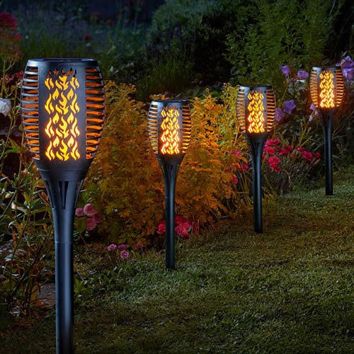 Solar Cool Flame Compact Torch - 2 pack