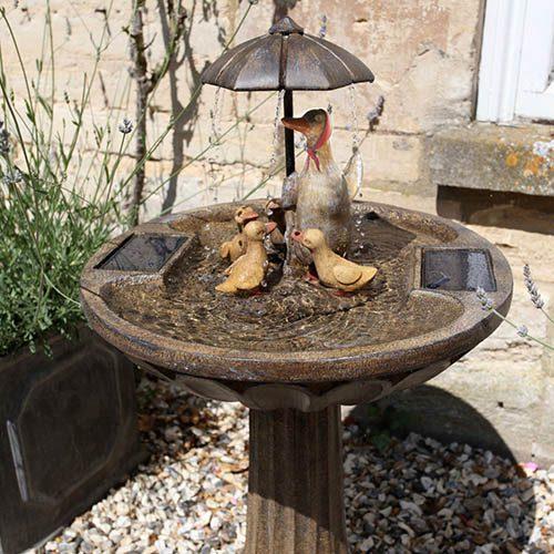 Duck Family Fountain