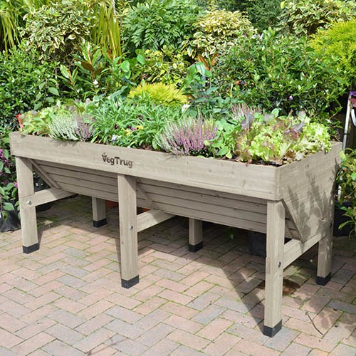 VegTrug Medium - Grey Wash