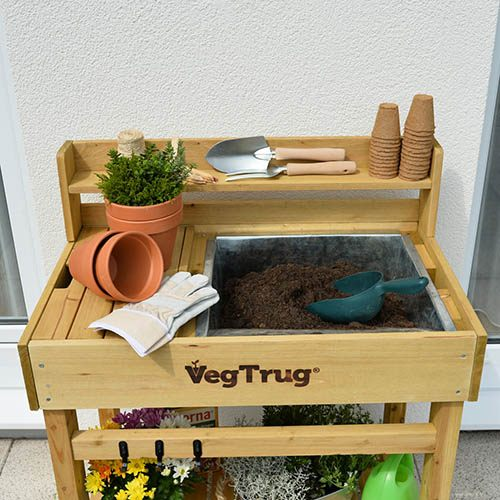 Deluxe Potting Bench - Natural