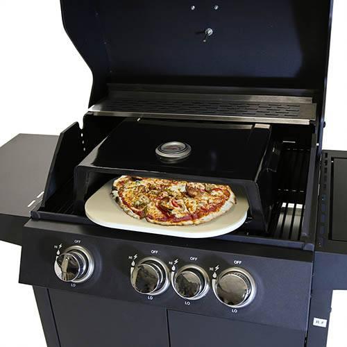BBQ Pizza Box - Black