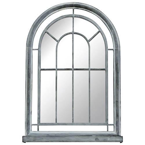 Vintage Arch Mirror - Grey