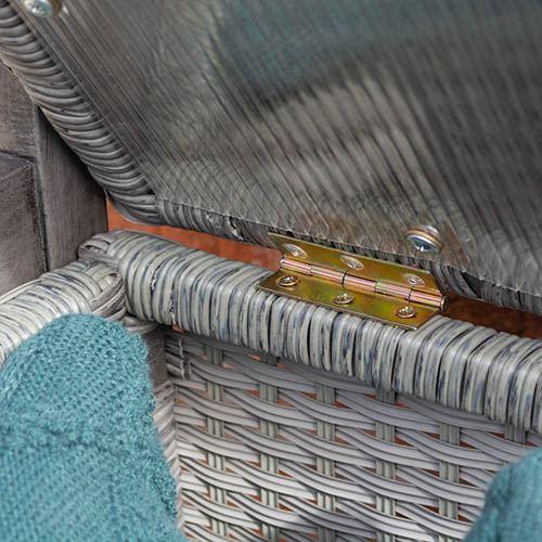 Alderley Rattan Storage Bench