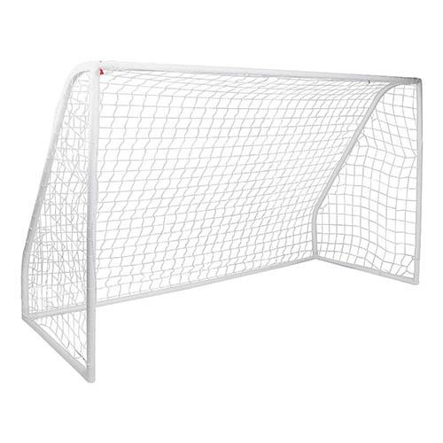 Junior 12Ft X 6Ft White Portable Football Goal