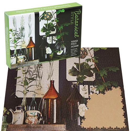 Botanical Style Jigsaw