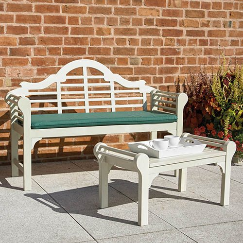 Lutyens Low Level Table - Forest White