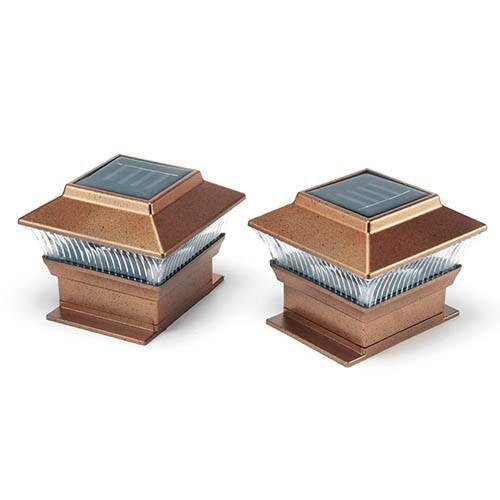Solar Post Lights (2 pack)