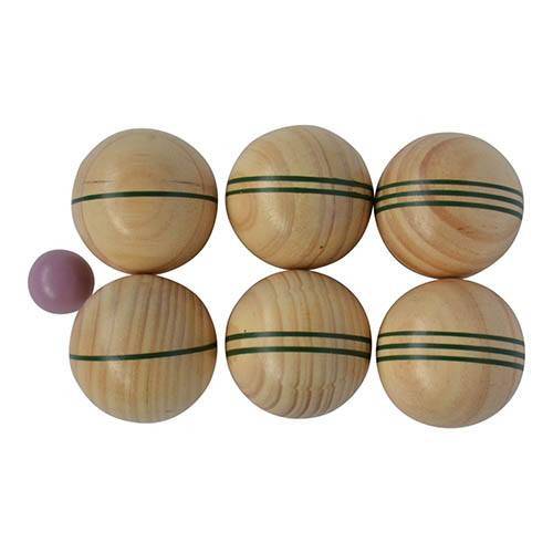 Wooden Boule Game