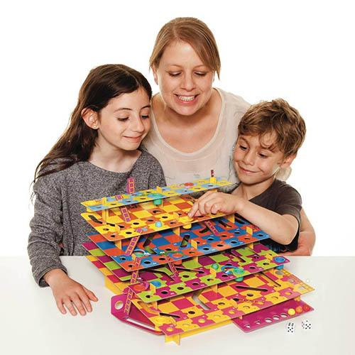 Multi-Level Snakes and Ladders