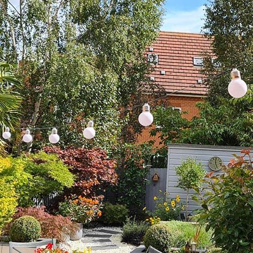Solar Festoon Lanterns