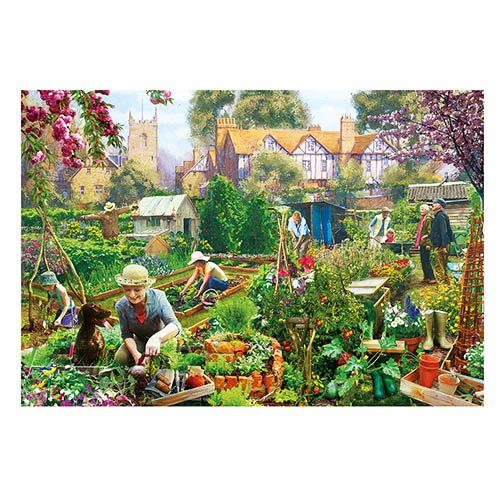 Green Fingers Jigsaw – 500 Piece