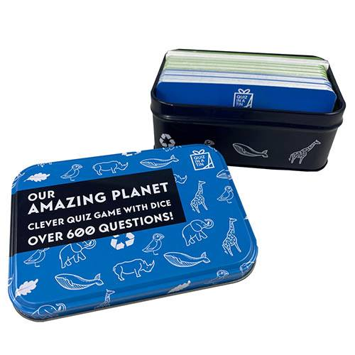 Amazing Planet Quiz in a Tin
