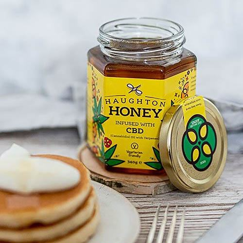 Honey Infused with CBD Oil