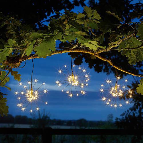 Triple Starburst String Light