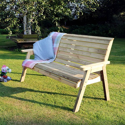 Charlotte 3 Seater Bench
