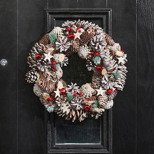 FrostStar 30 cm Wreath