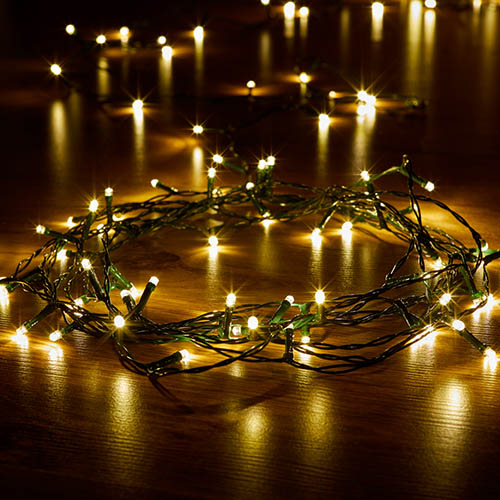 200 Battery Powered String Lights - Warm White