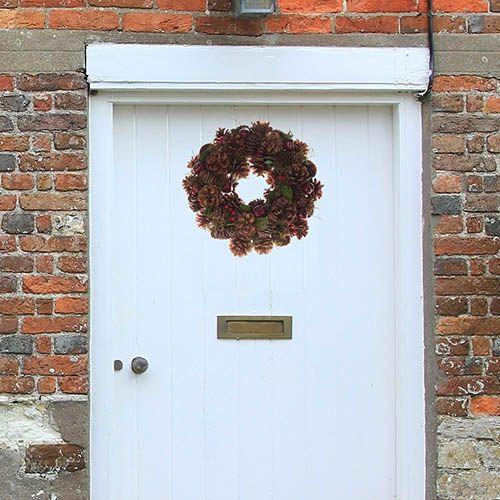 Everlasting Real Pinecone Wreath