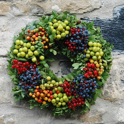 Fresh Berry Wreath