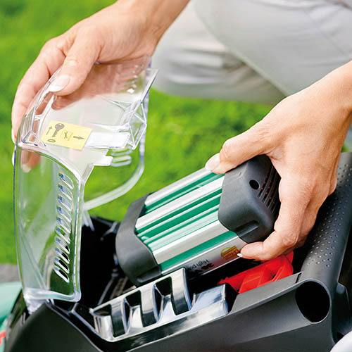 Bosch Rotak 37Li Ergoflex Rear Roller Cordless Rotary Lawn Mower