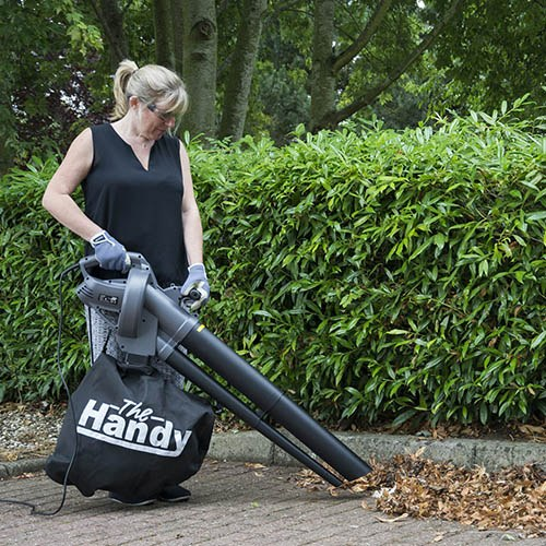 The Handy EV3000 Variable Speed Electric Garden Blower & Vac