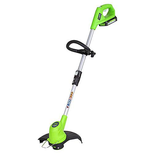 Greenworks 24V Cordless Grass Trimmer with Battery and Charger