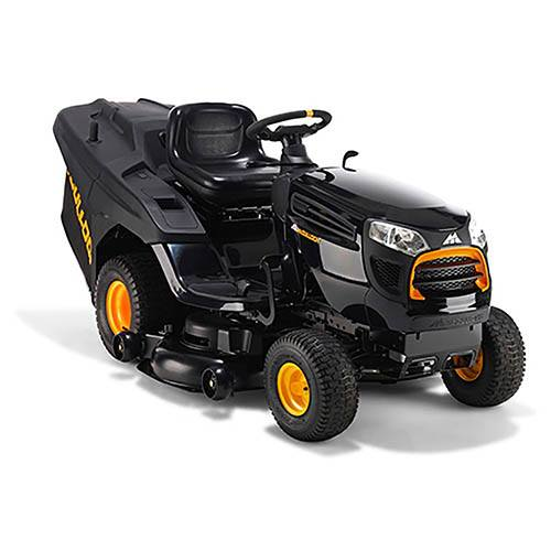 McCulloch M155-107TC 107cm Ride-On Lawn Mower with Collector