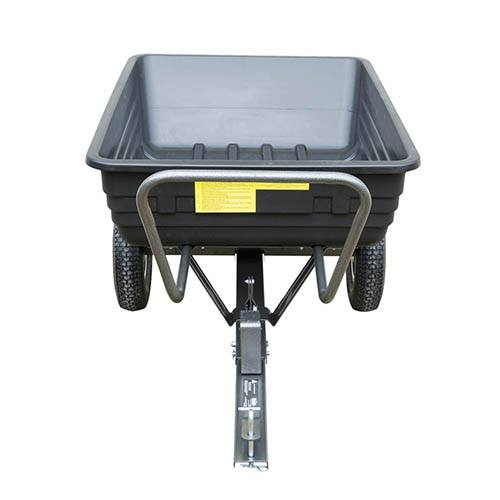 The Handy 650lb Poly Body Towed Dump Cart