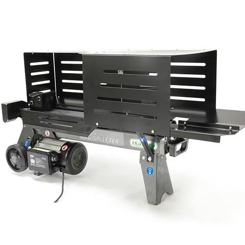 The Handy 6 Ton Electric Log Splitter With Guards