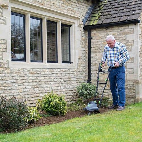 The Handy 800w Electric Garden Tiller