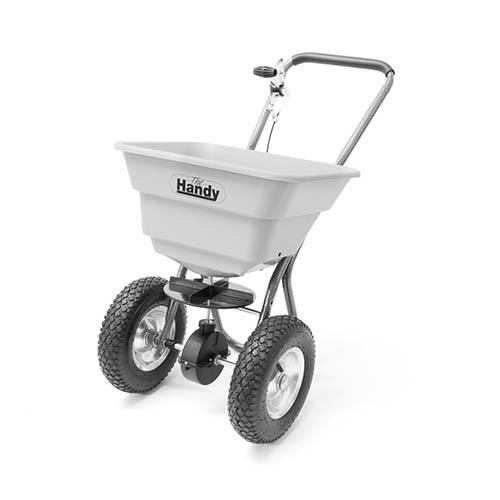 The Handy 36.5kg (80lbs) Push Broadcast Spreader