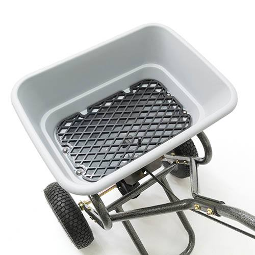 The Handy 31.75kg (70lbs) Heavy Duty Push Broadcast Spreader