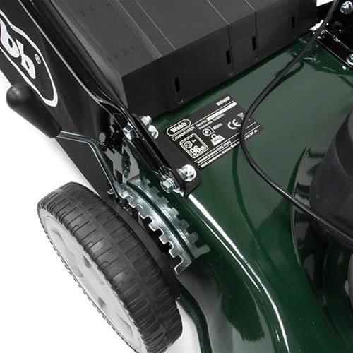 Webb R46SP 18 Self Propelled Steel Deck Petrol Rotary Mower