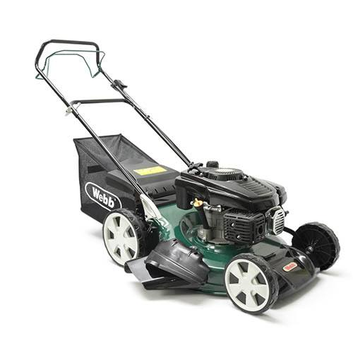 Webb R51SP 20 Self Propelled Steel Deck Petrol Rotary Mower
