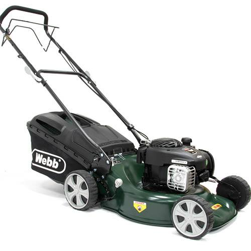 Webb R18SP 18 Self Propelled Steel Deck Petrol Rotary Mower