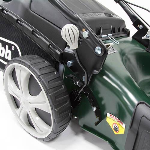 Webb R18HW 18 Self Propelled Steel Deck High Wheel Petrol Rotary Mower