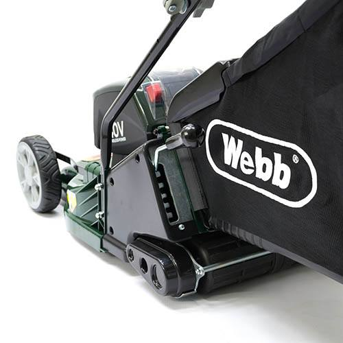 Webb RR17LIP 17 Push ABS Deck Cordless Roller Rotary Mower
