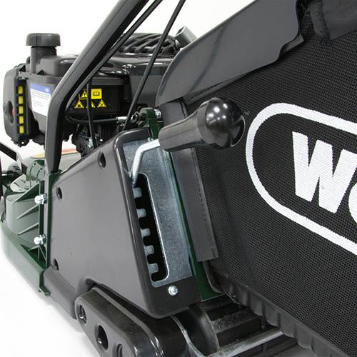 Webb RR17P 17 Push ABS Deck Petrol Roller Rotary Walk Behind Mower
