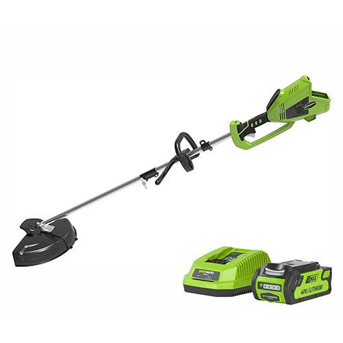 Greenworks 40v DigiPro Cordless Linetrimmer with 2Ah Battery & Charger